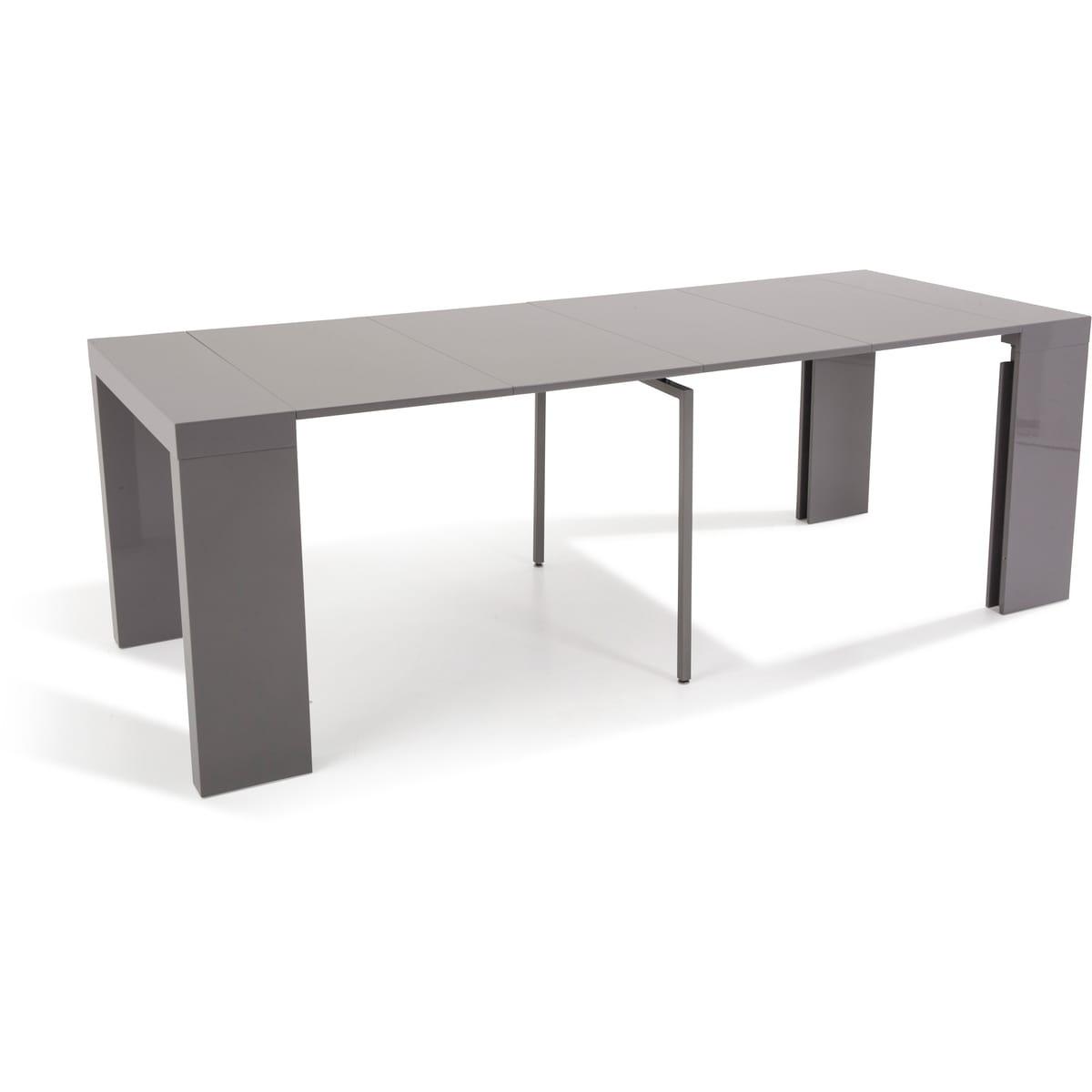 Console Extensible Laquée Lydie L45 À 225Cm avec Auchan Table De Jardin