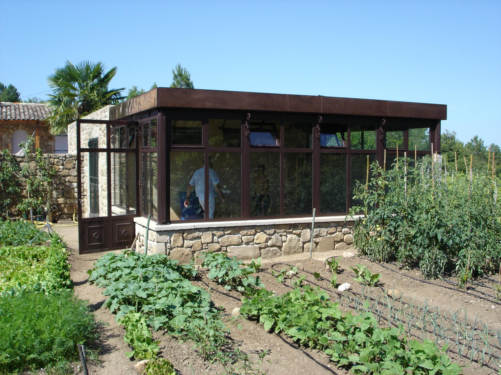 Construction D'un Jardin D'hiver. Architecte Dplg. destiné Construire Jardin D Hiver