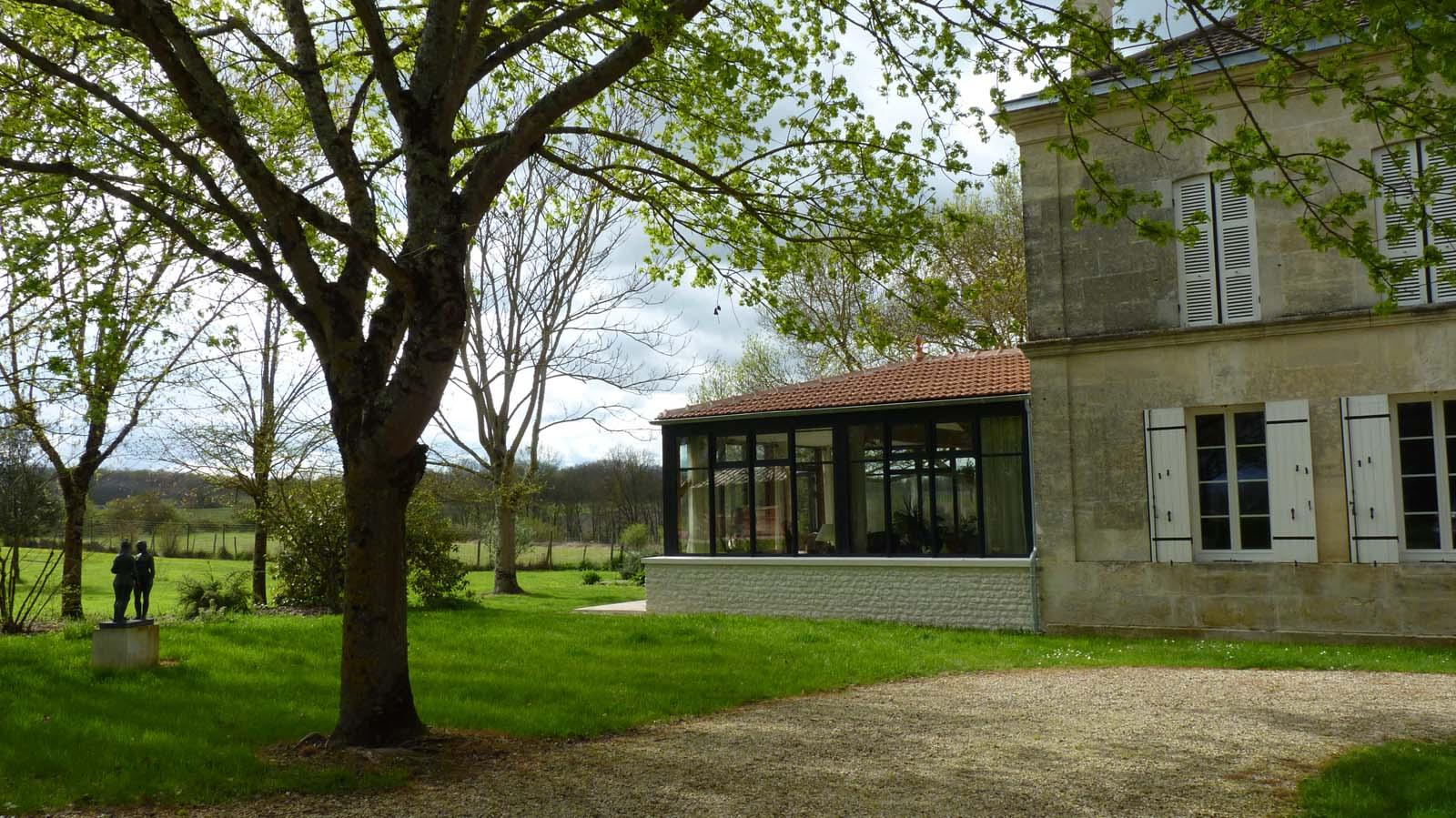 Construction D'un Jardin D'hiver Sur La Commune De Saint ... dedans Construire Jardin D Hiver
