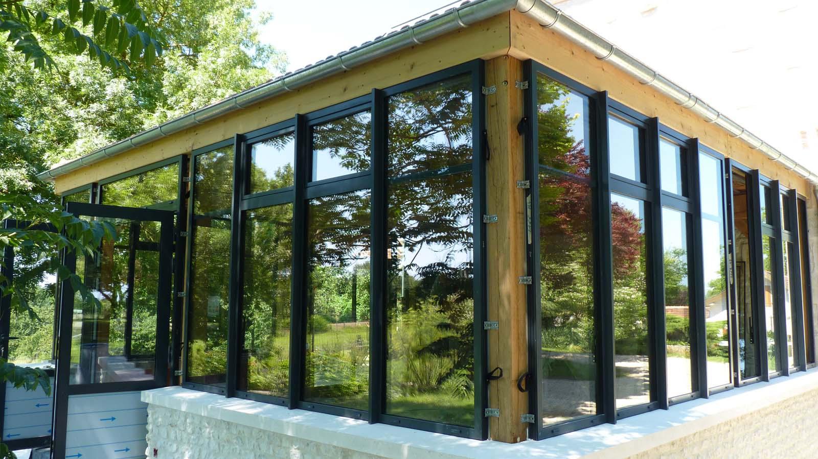 Construction D'un Jardin D'hiver Sur La Commune De Saint ... encequiconcerne Construire Jardin D Hiver