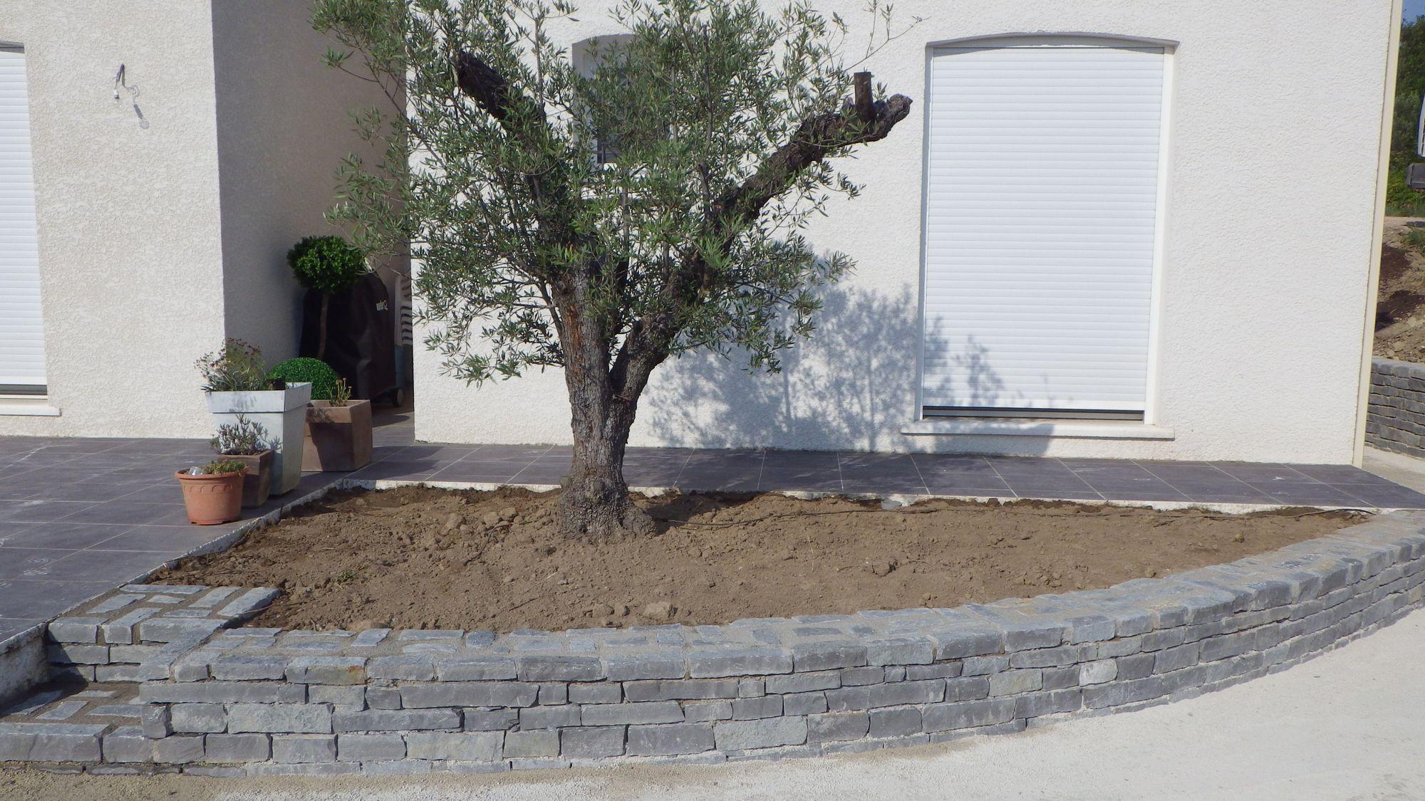 Construction Mur, Muret Jardin – Vla Renovation destiné Petit Muret En Pierre Pour Jardin
