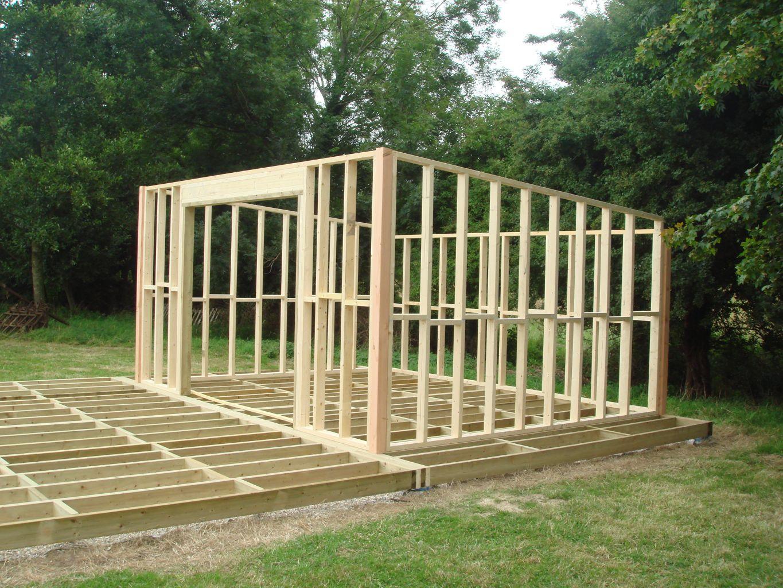 Construire Abri De Jardin Des Idées - Idees Conception Jardin pour Monter Abri De Jardin En Bois