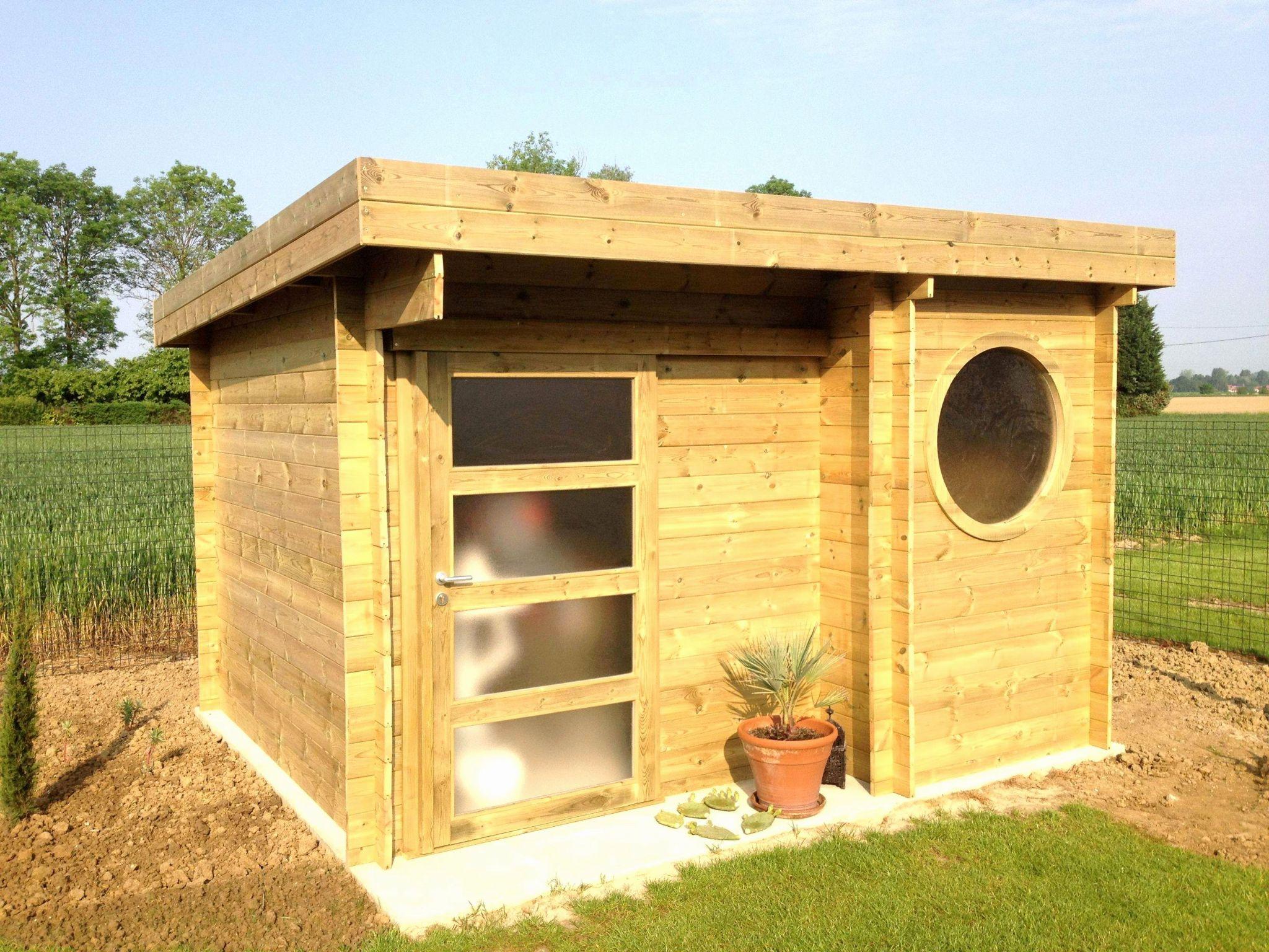 Construire Abri Jardin Des Idées - Idees Conception Jardin pour Construire Un Abri De Jardin En Bois Soi Meme