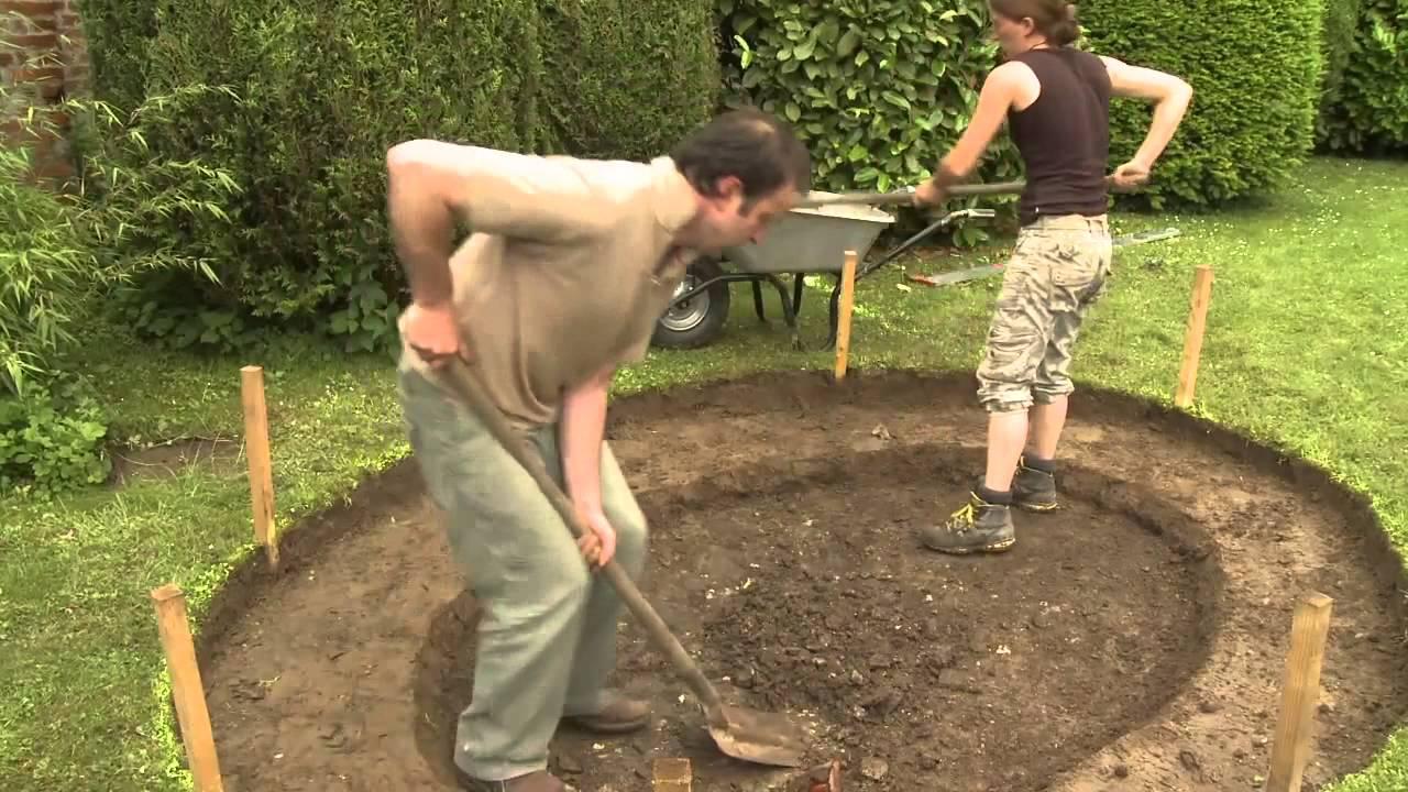 Construire Bassin De Jardin Avec Liner serapportantà Construire Un Bassin De Jardin