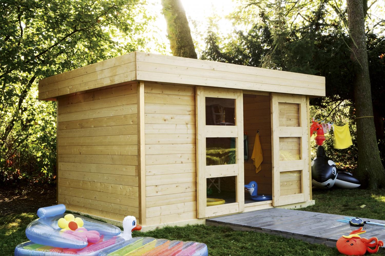 Construire Son Abri De Jardin - Elle Décoration encequiconcerne Abri De Jardin En Bois Leroy Merlin