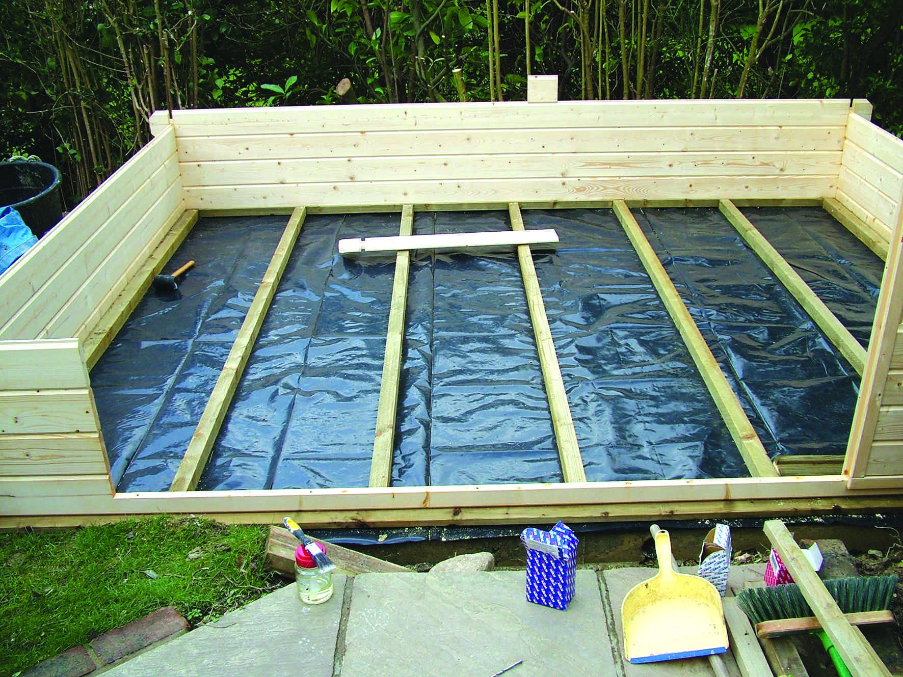 Construire Son Atelier – Partie 1 - L'atelier Bois pour Fabriquer Son Abris De Jardin