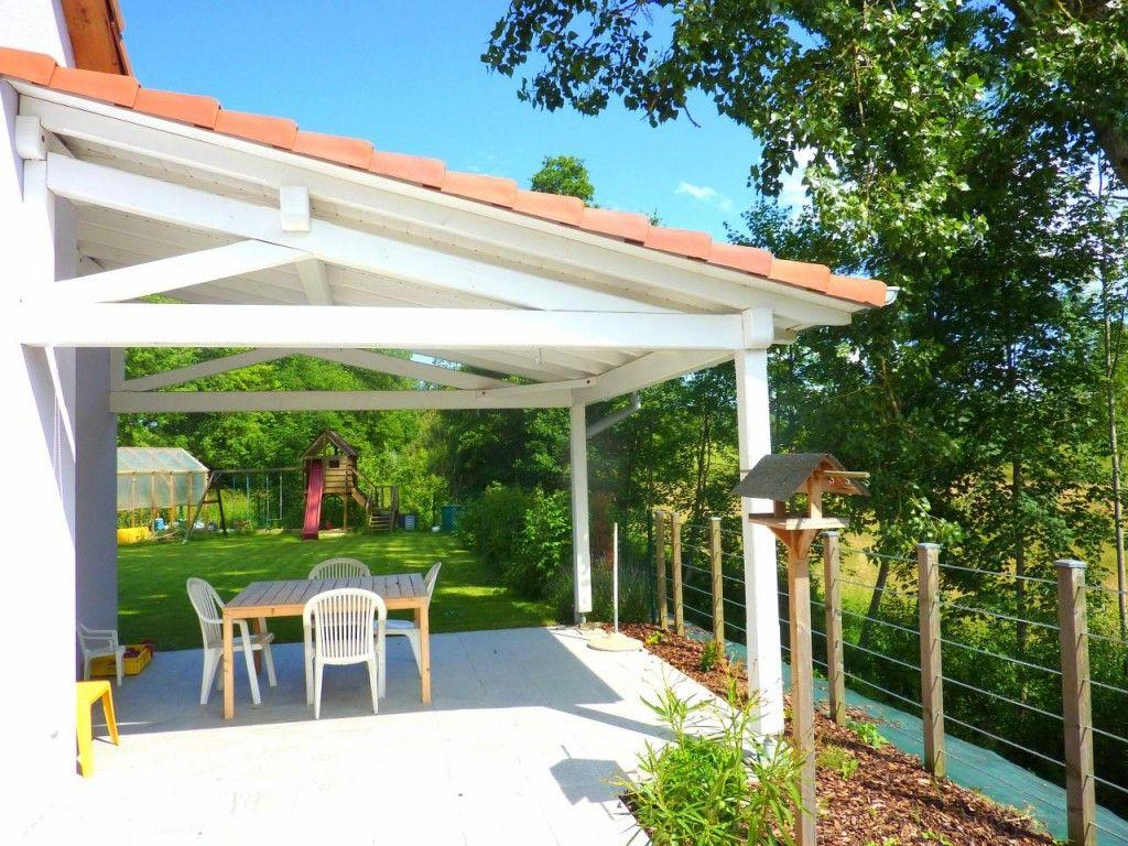 Construire Terrasse Couverte Maison   Terrasse Couverte pour Appenti De Jardin