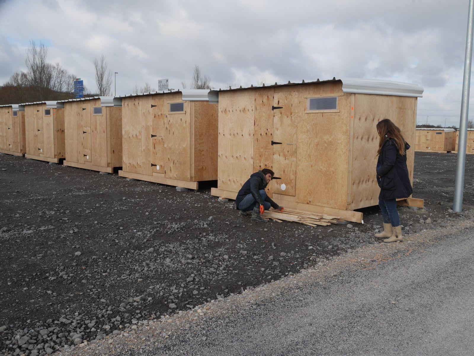 Construire Un Hôpital Préfabriqué En 8 Jours : Utopie Ou Réalité serapportantà Abri De Jardin Prefabrique En Beton