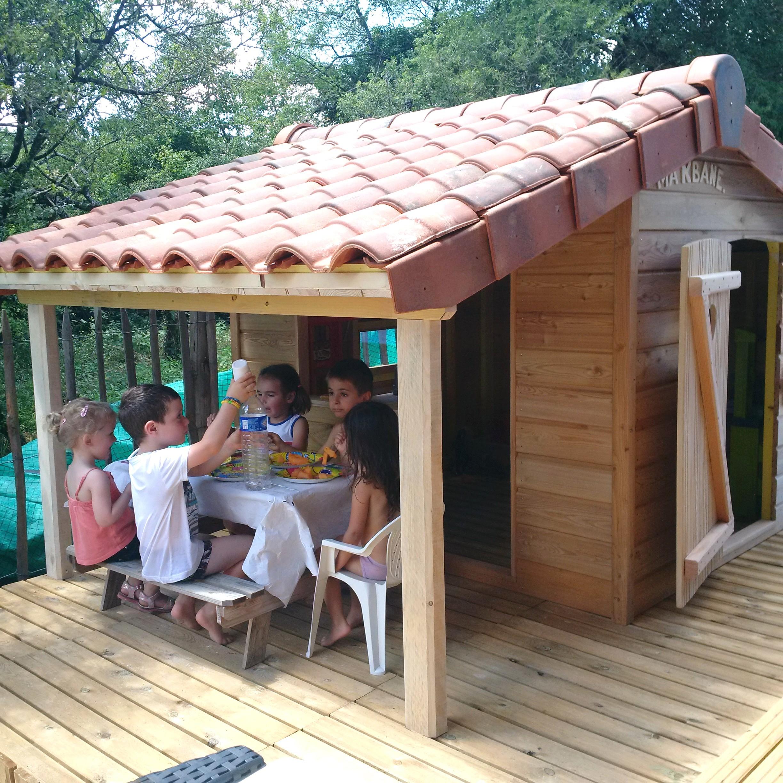 Construire Une Cabane De Jardin Concept - Idees Conception ... avec Construire Une Cabane De Jardin