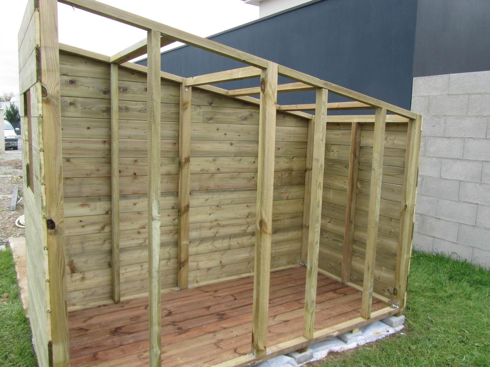 Construire Une Cabane De Jardin Concept - Idees Conception ... encequiconcerne Construire Une Cabane De Jardin