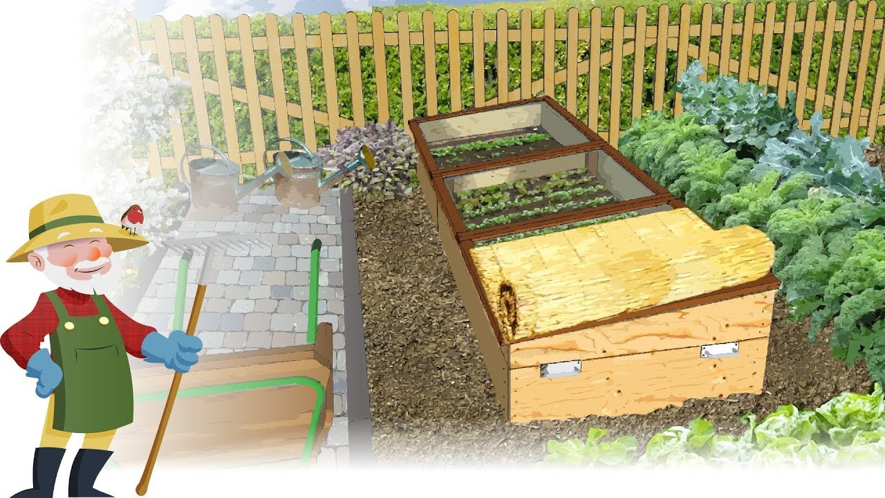 Construisez Vous-Même Un Châssis De Jardin — (Châssis Nantais) pour Chassis Jardin