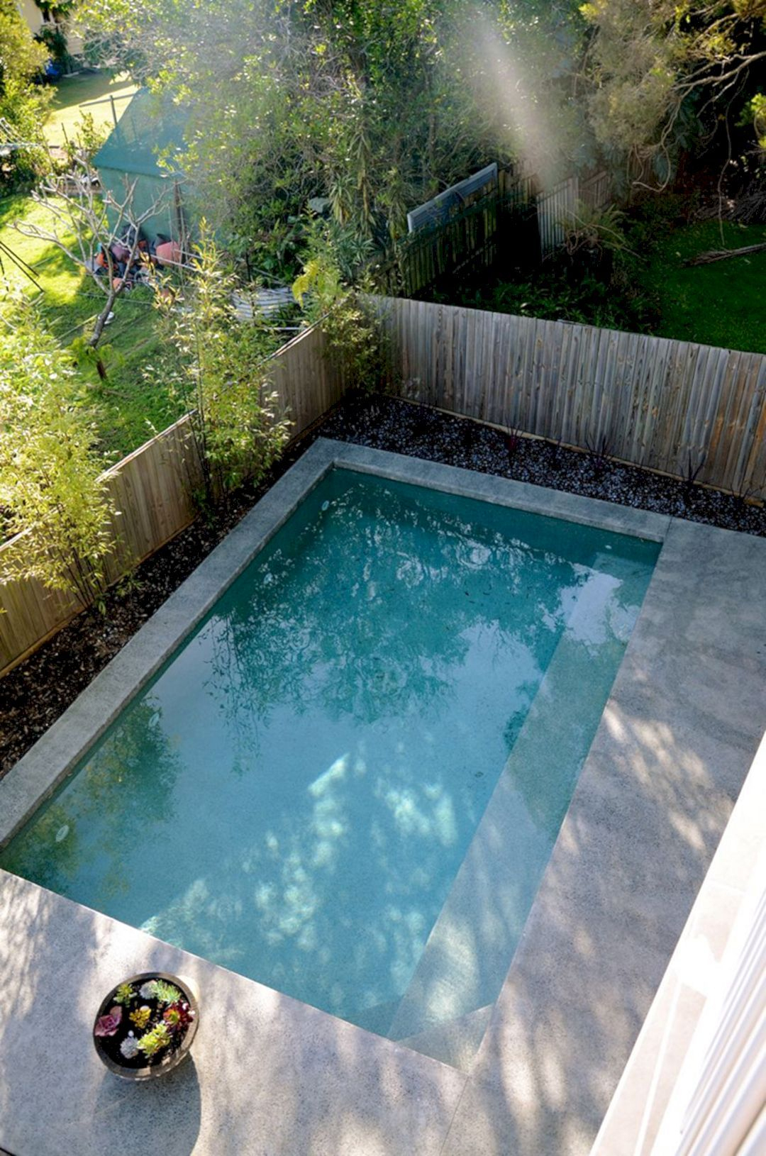 Coolest Small Pool Ideas With 9 Basic Preparation Tips ... encequiconcerne Bassin De Jardin Rectangulaire