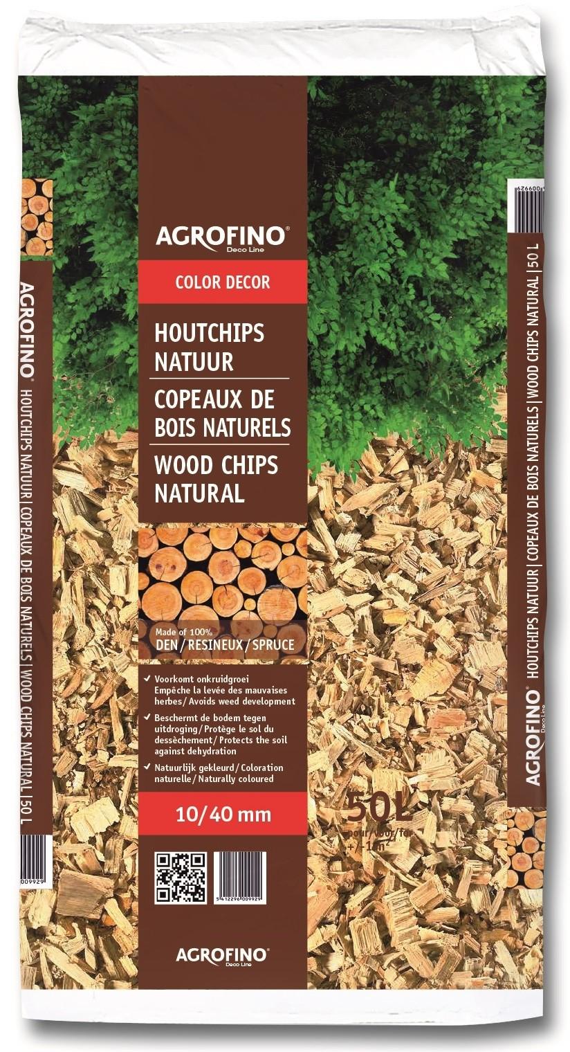 Copeaux De Bois Naturels 50 L Agrofino - Mr.bricolage concernant Copeaux De Bois Jardin