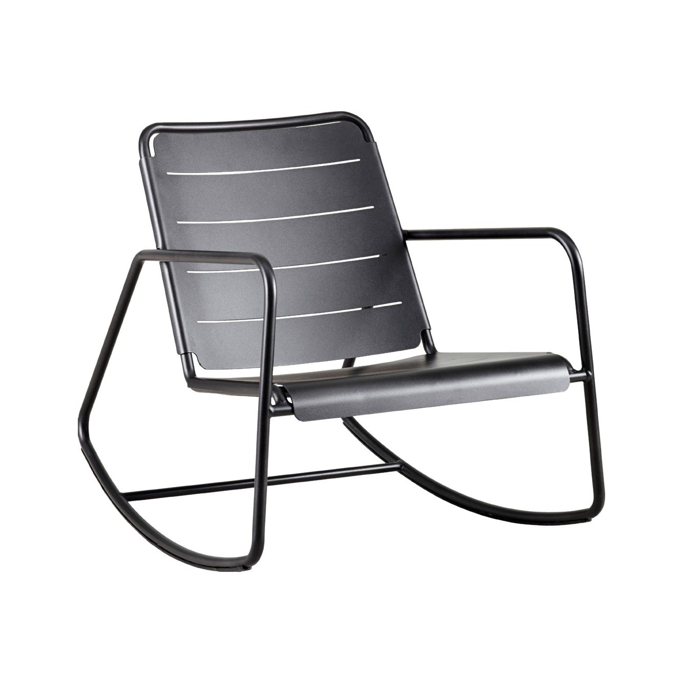 Copenhagen Rocking Chair - Cane-Line | Aluminum | Jdv avec Rocking Chair Jardin
