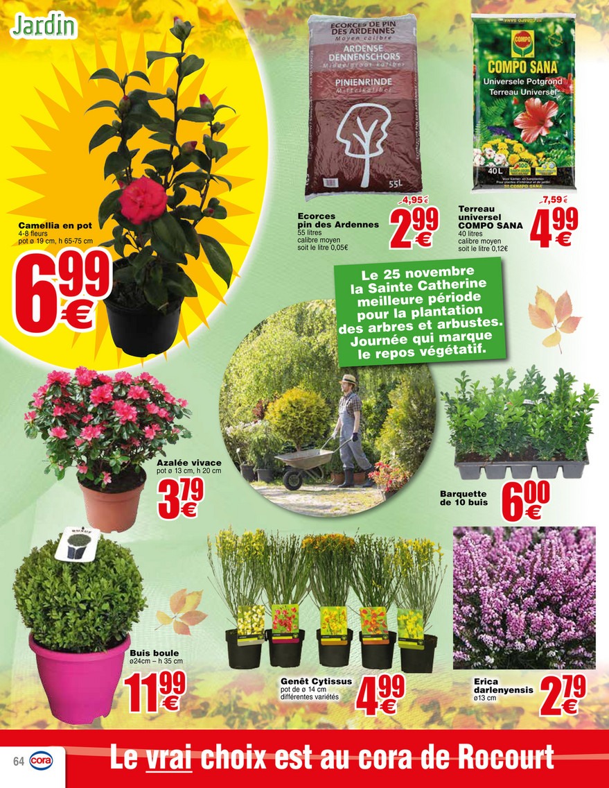 Cora - 141117 Braderie Pdf - Page 32-33 destiné Ecorces Jardin