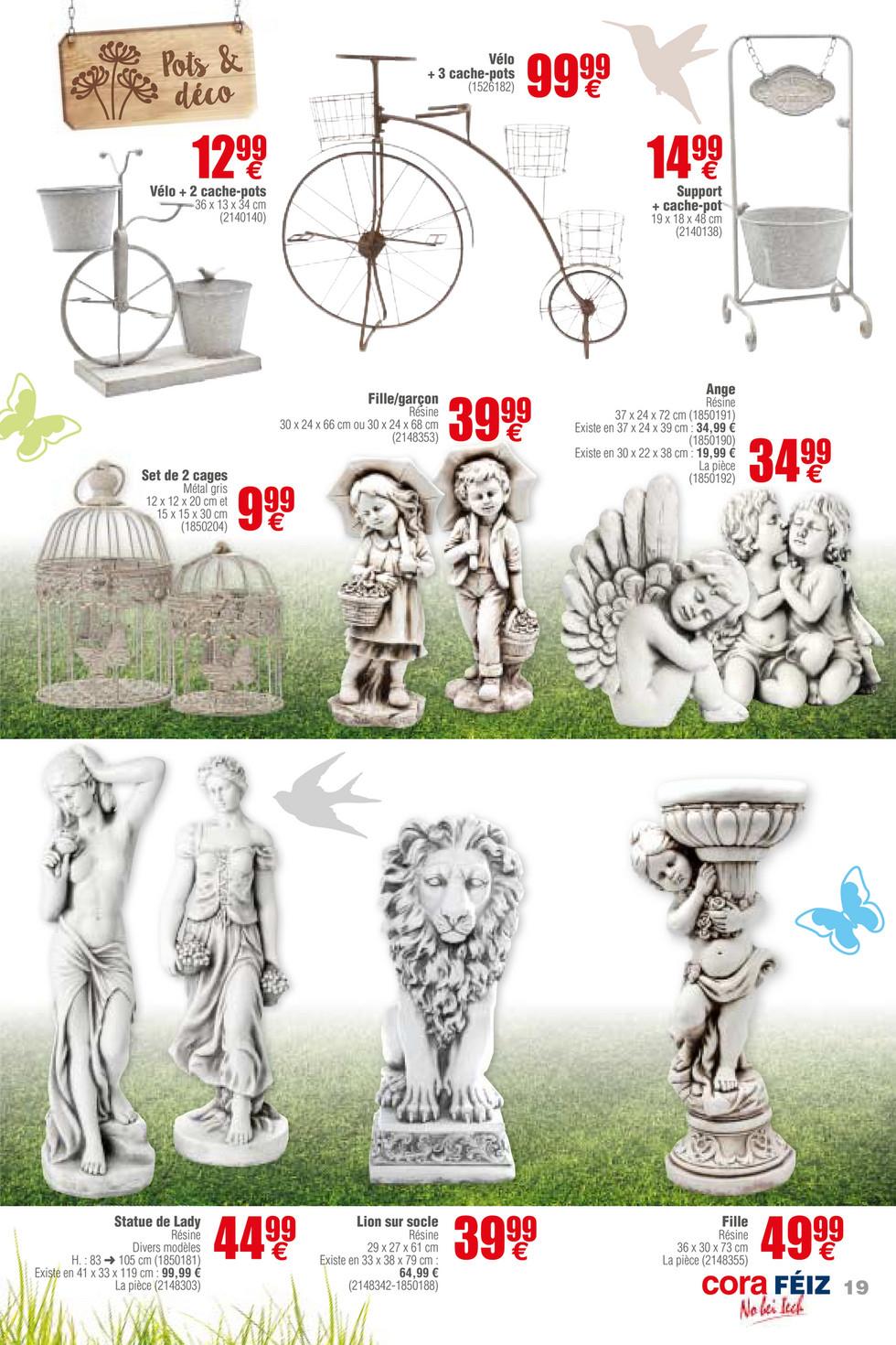 Cora - Foetz Jardin 13-03-18 - Page 18-19 concernant Velo Deco Jardin