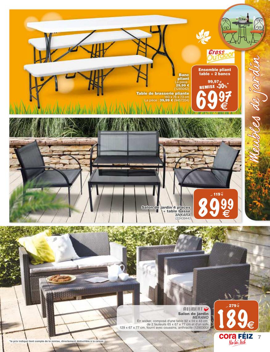 Cora - Foetz-Mobilier-Jardin - Page 6-7 concernant Salon De Jardin Cora