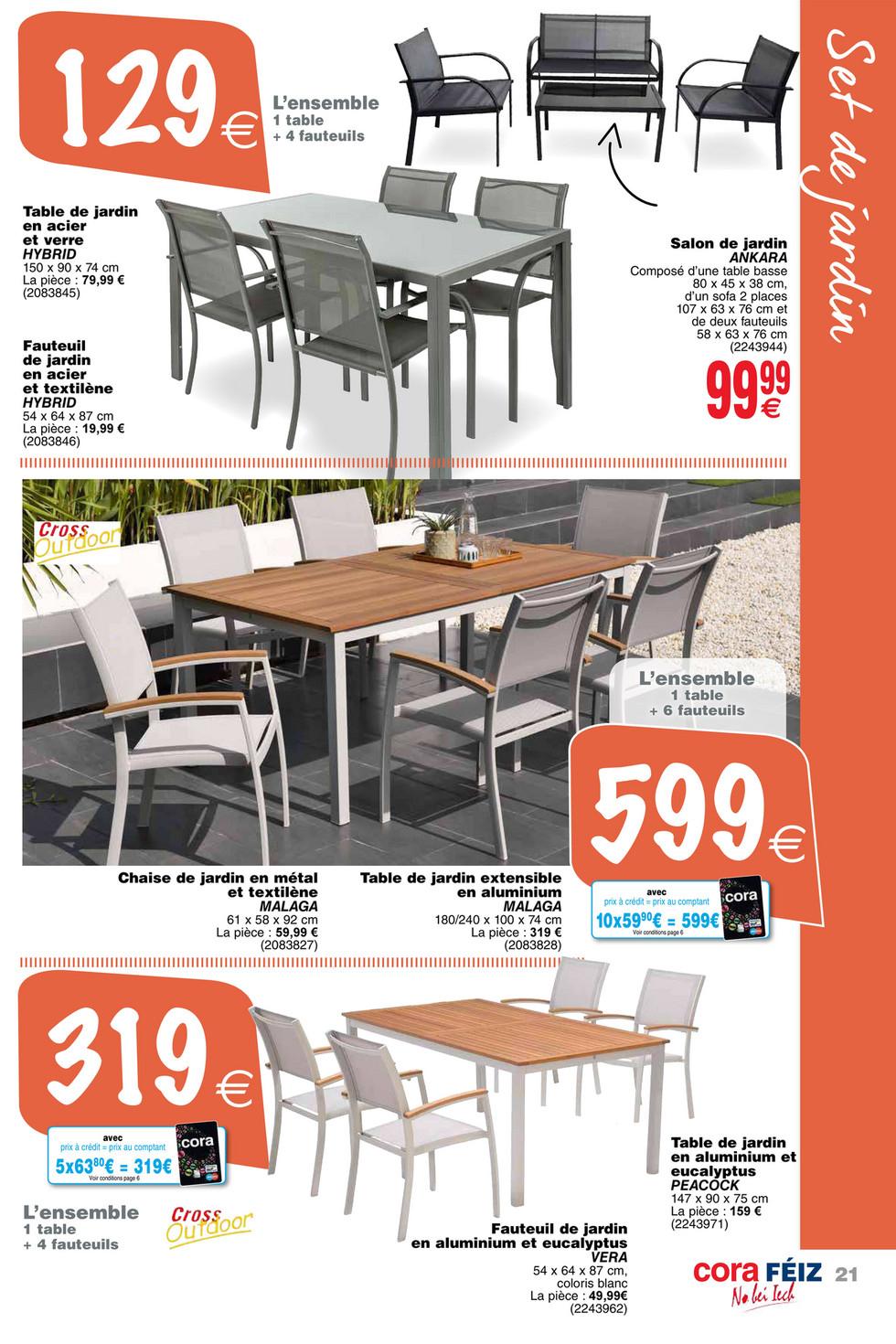 Cora - Foetz Plein Air 14-05-19 - Page 20-21 avec Cora Table De Jardin