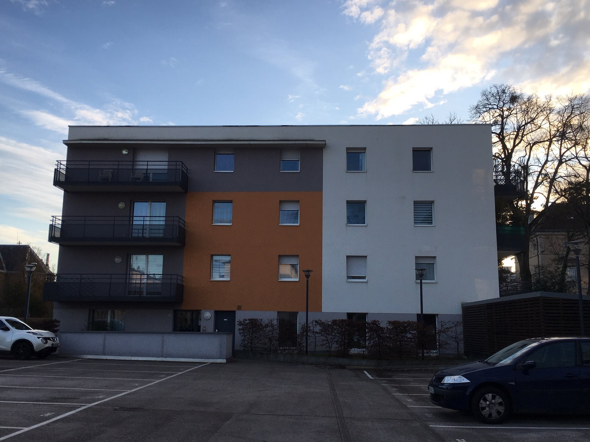 Cote D'or (21) - Dijon - T3 Rez-De-Jardin - Immeuble Bbc avec Appartement Rez De Jardin Dijon
