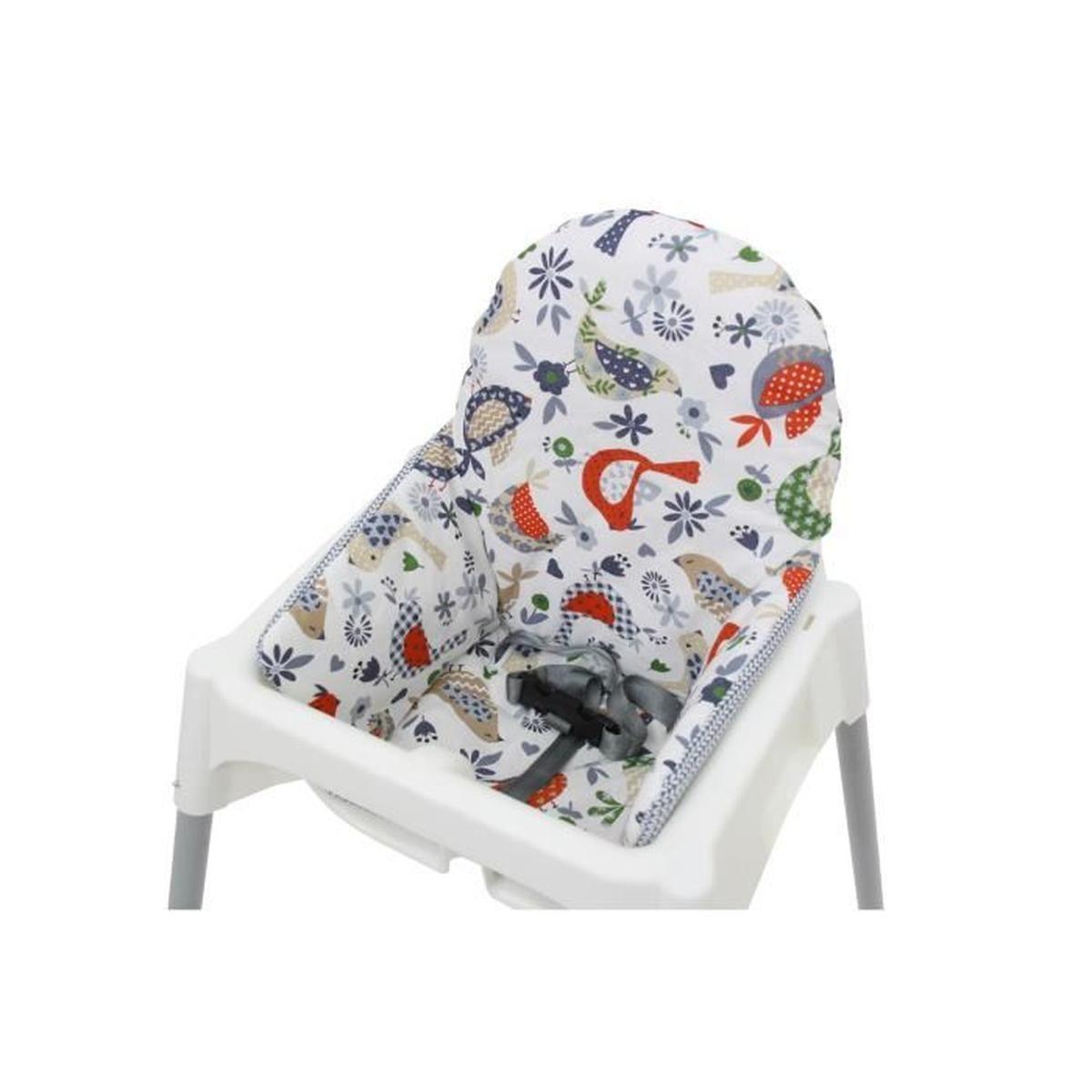 Coussin De Chaisse Haute De Polini Kids Pour Ikea Antilop tout Transat Jardin Ikea
