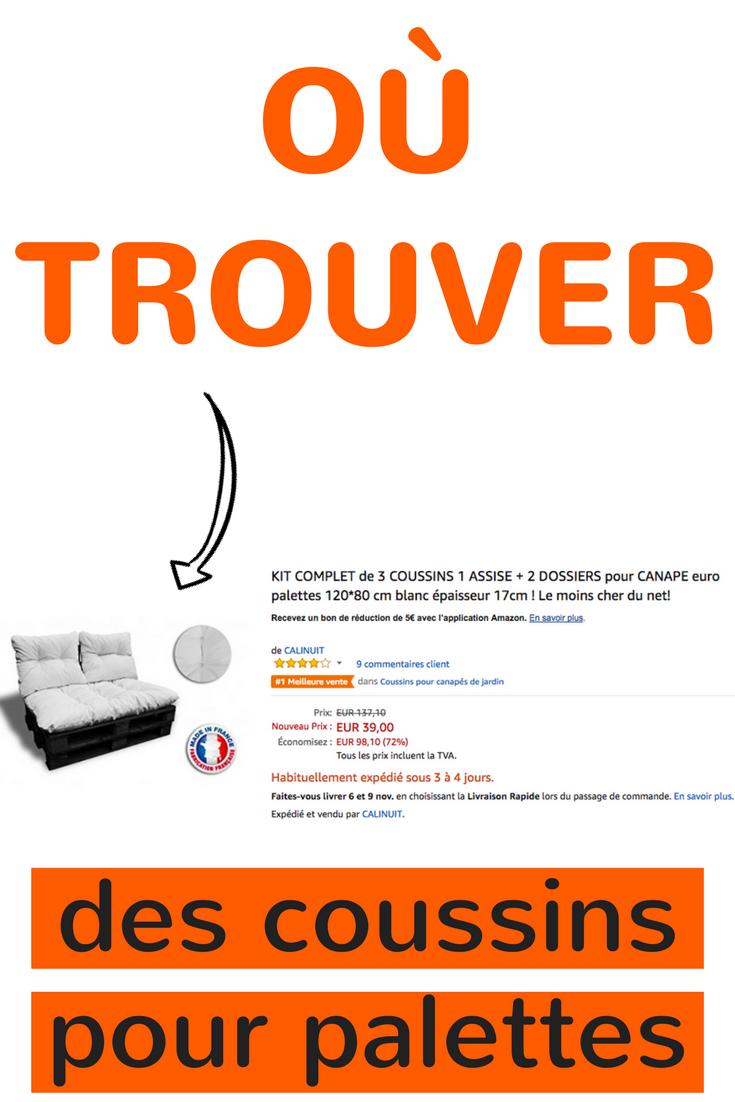 Coussin Palette : Guide D'achat 2020 (+ Bons Plans ... à Bon Plan Salon De Jardin