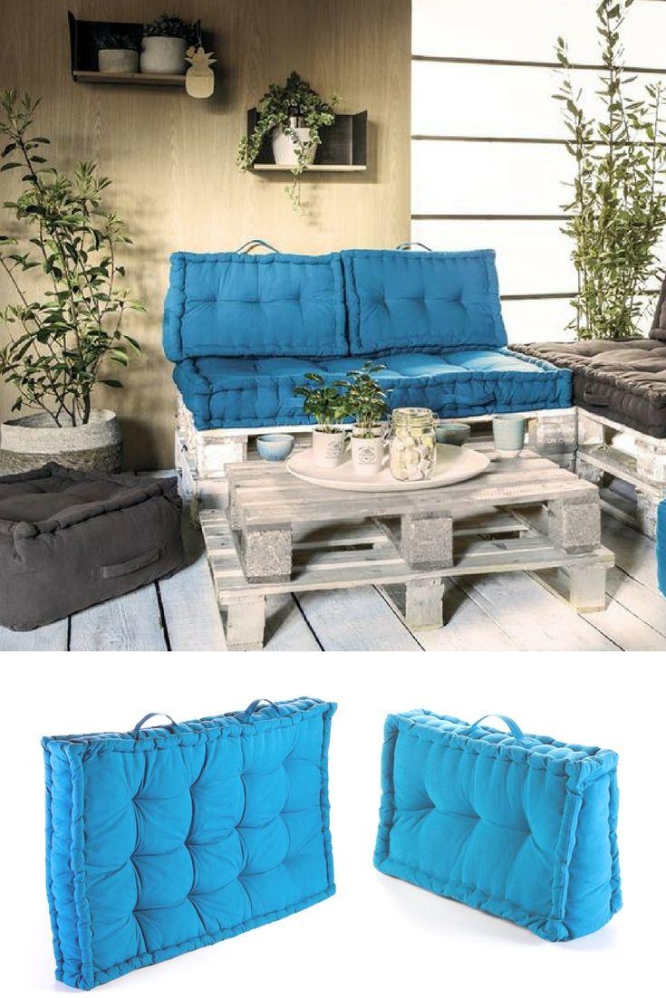Coussin Palette : Guide D'achat 2020 (+ Bons Plans ... concernant Salon De Jardin Centrakor