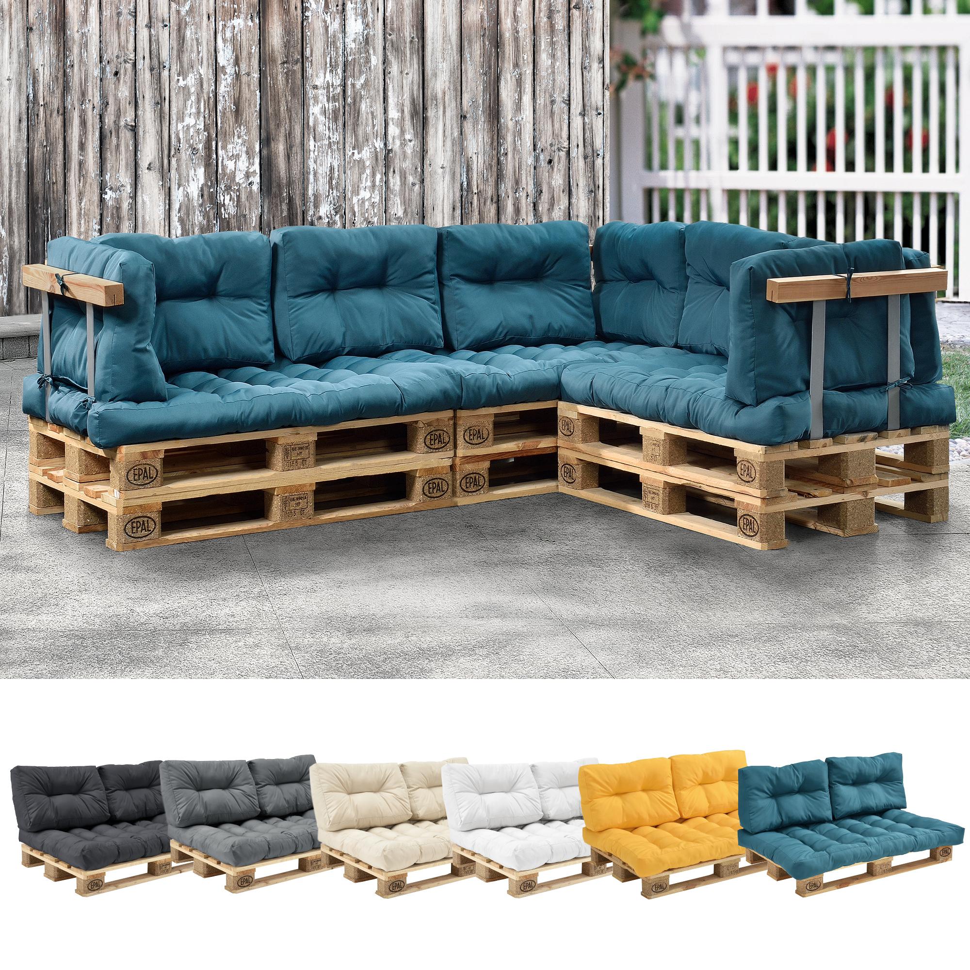 Coussin Pour Canapã© En Palette Concept - Idees Conception ... concernant Coussin Pour Salon De Jardin En Palette