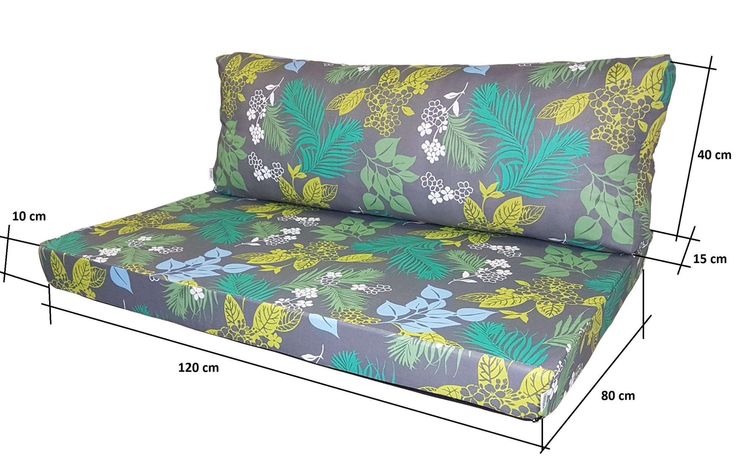 Coussins Pour Canapé Palette Style - Natalia Sp. Z O.o. à Coussin Pour Salon De Jardin En Palette