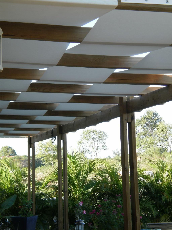 Couverture De Pergola Toile Tendue Guadeloupe Le Gosier ... à Toile Tendu Jardin