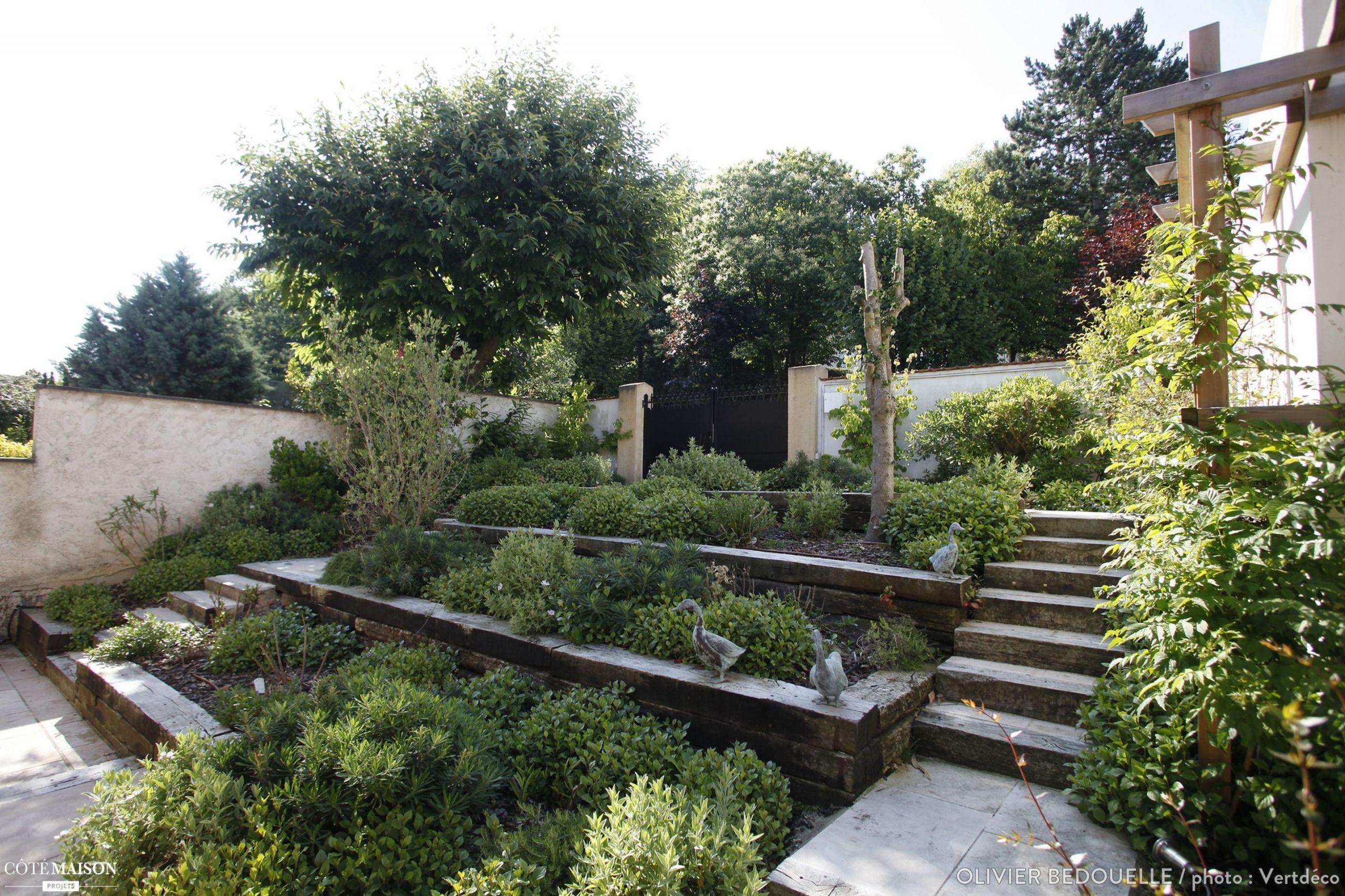 Crã©Er Un Jardin Paysager Concept - Idees Conception Jardin serapportantà Comment Faire Son Jardin Paysager