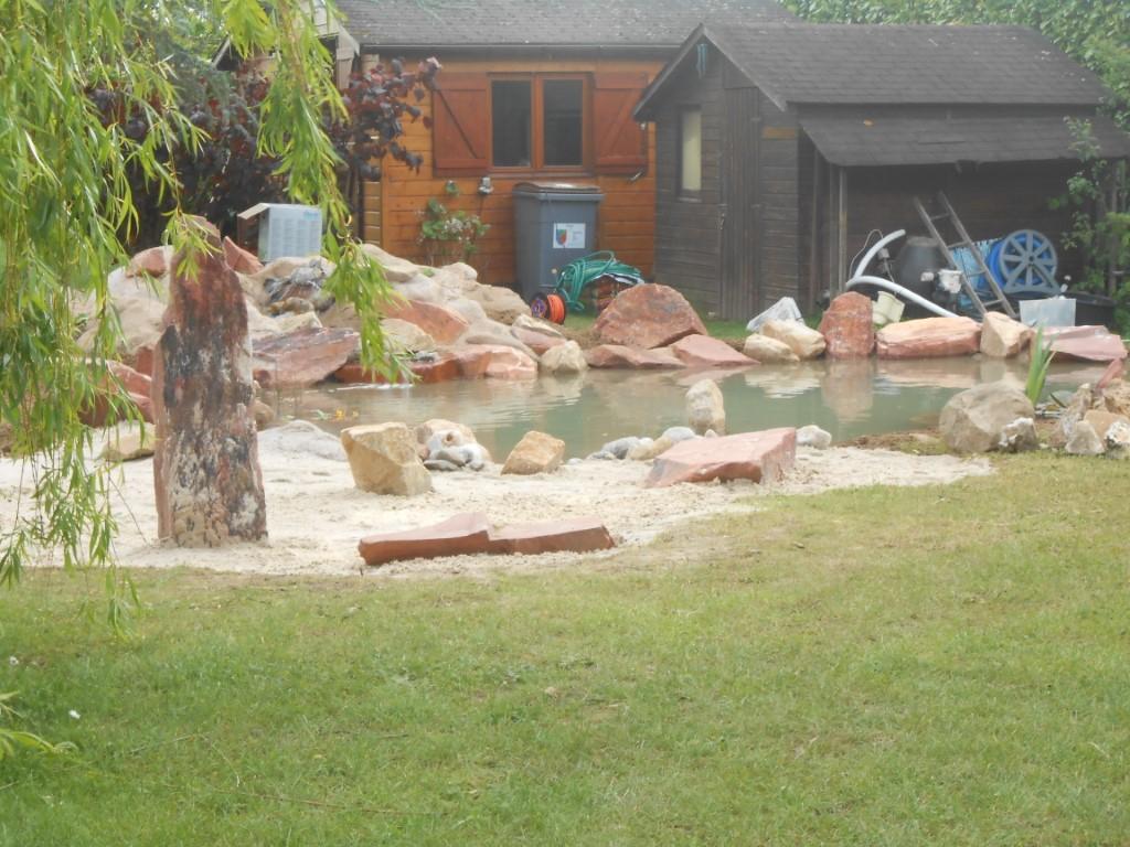 Creaflore, Auteur À Paysagiste Creaflore destiné Creation Cascade Bassin Jardin