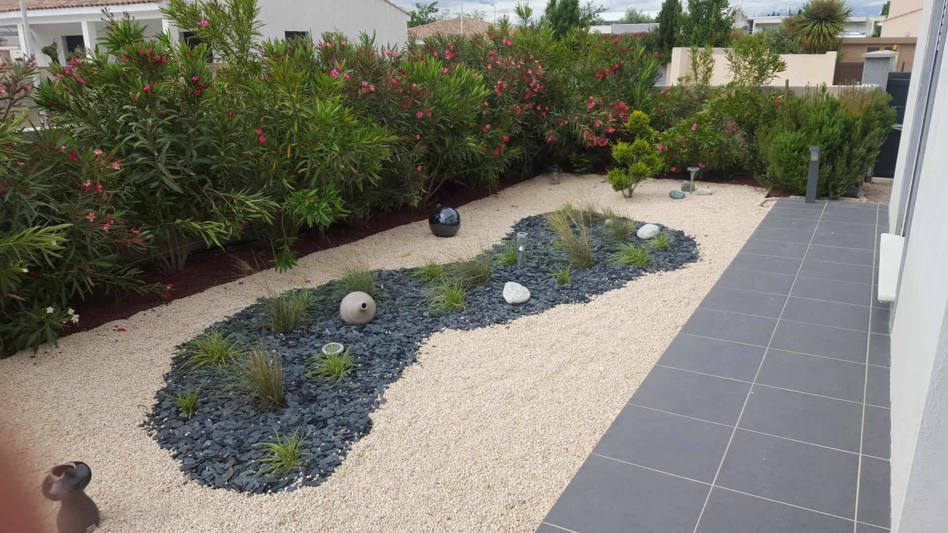 Création D'un Jardin Sec: Un Beau Jardin Avec Peu D'entretien. pour Creer Un Jardin Sec