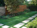 Création D'une Allée De Jardin Avec Gazon En Plaques Par ... avec Création Allée De Jardin