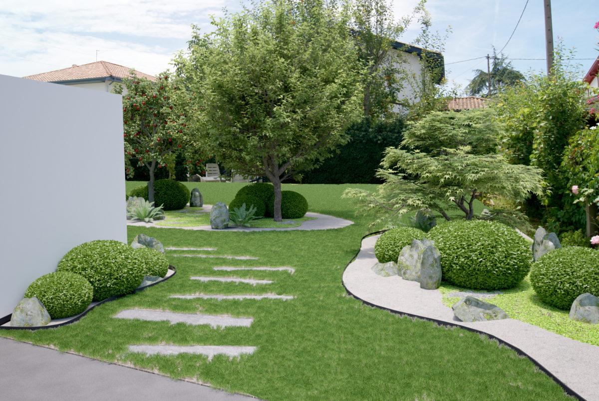Création Jardin Japonais - Paysagiste Saint Jean De Luz ... avec Creation Jardin Japonais