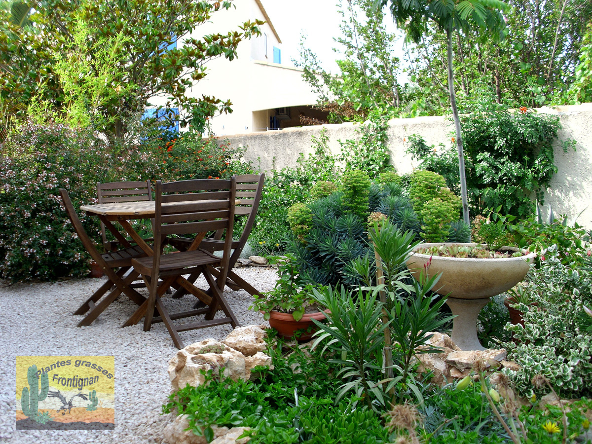 Creation Jardin Mediterraneen pour Amenagement Jardin Exterieur Mediterraneen