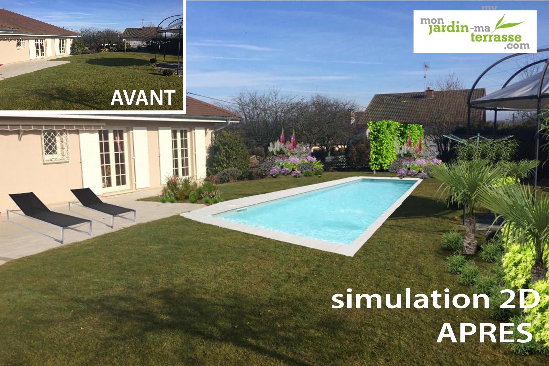 Créer Son Jardin Virtuel Gratuit | Monjardin-Materrasse destiné Logiciel Amenagement Jardin