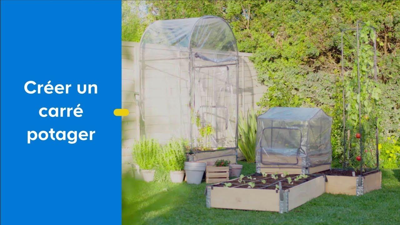 Créer Un Carré Potager Avec Kitchen Garden - Castorama destiné Serres De Jardin Castorama