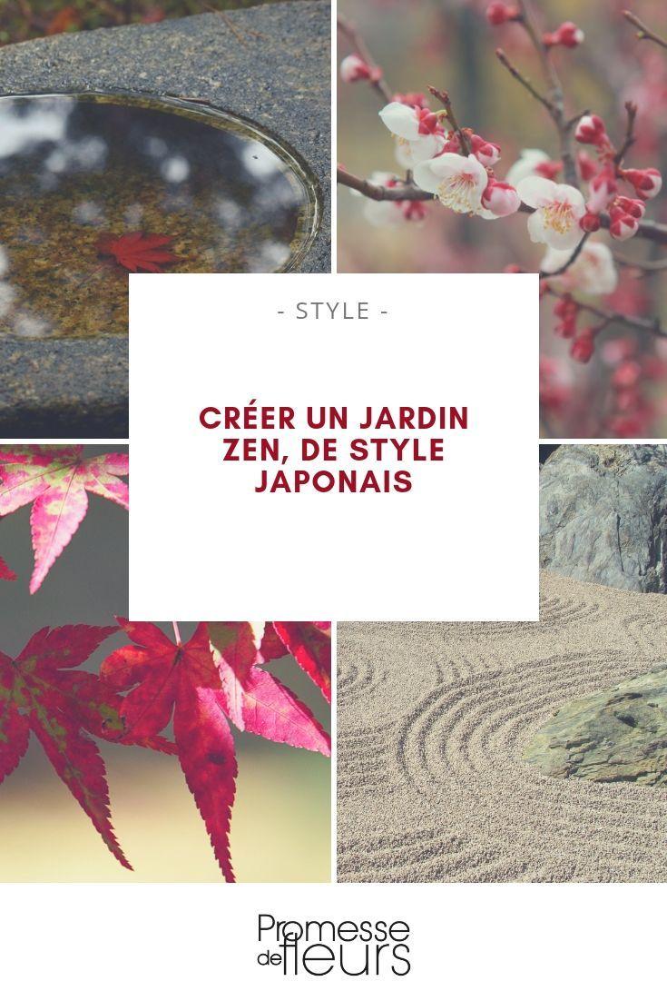 Créer Un Jardin Japonais Ou Jardin Zen | Zen Bahçeleri Ve ... destiné Creation Jardin Japonais