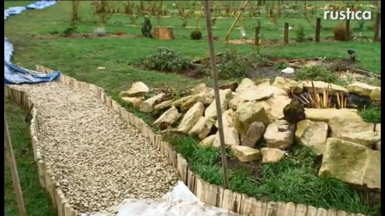 Créer Une Allée Gravillonnée encequiconcerne Allée De Gravier Jardin