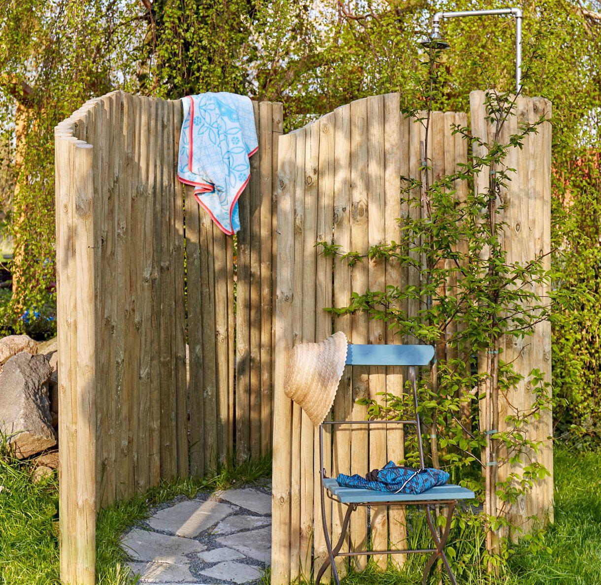 Créer Une Douche De Jardin | Idées De Jardin | Douche De ... pour Douche De Jardin Solaire