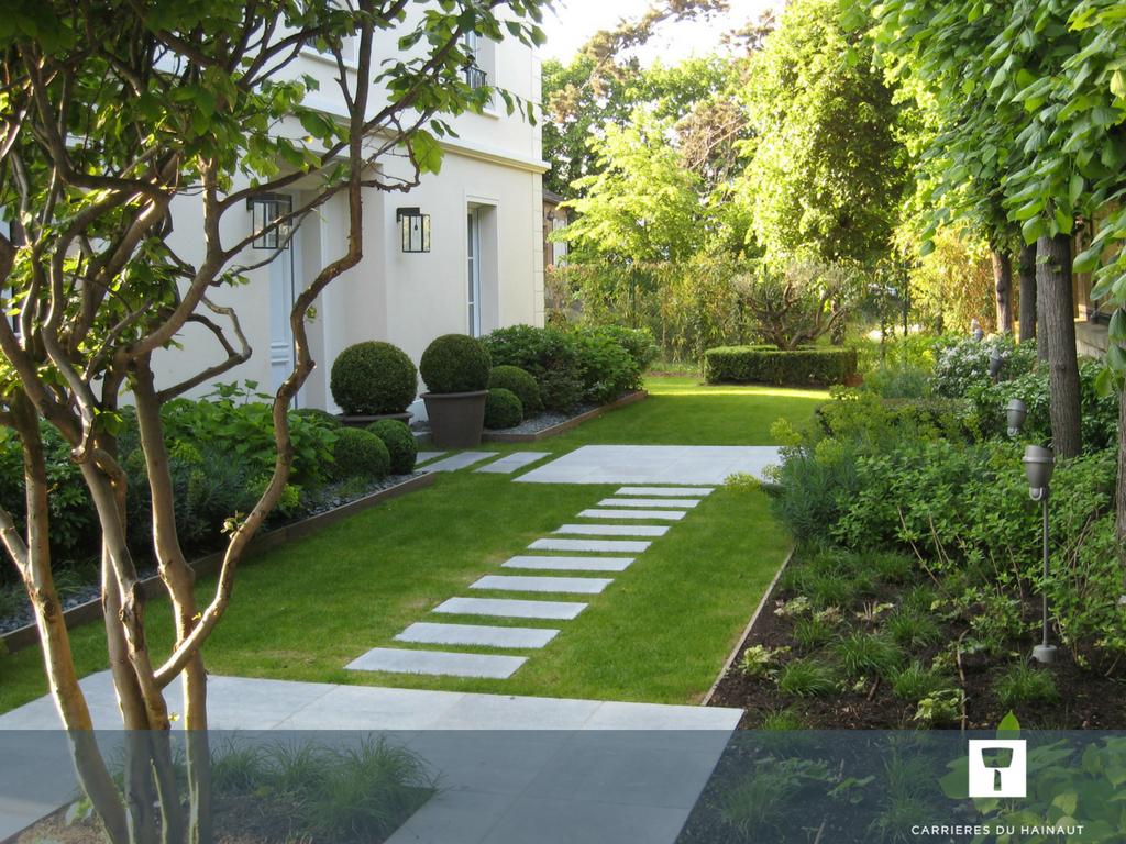 Créez Des Liens Entre Les Espaces Du Jardin Grâce À Une ... avec Aménagement Jardin Hainaut