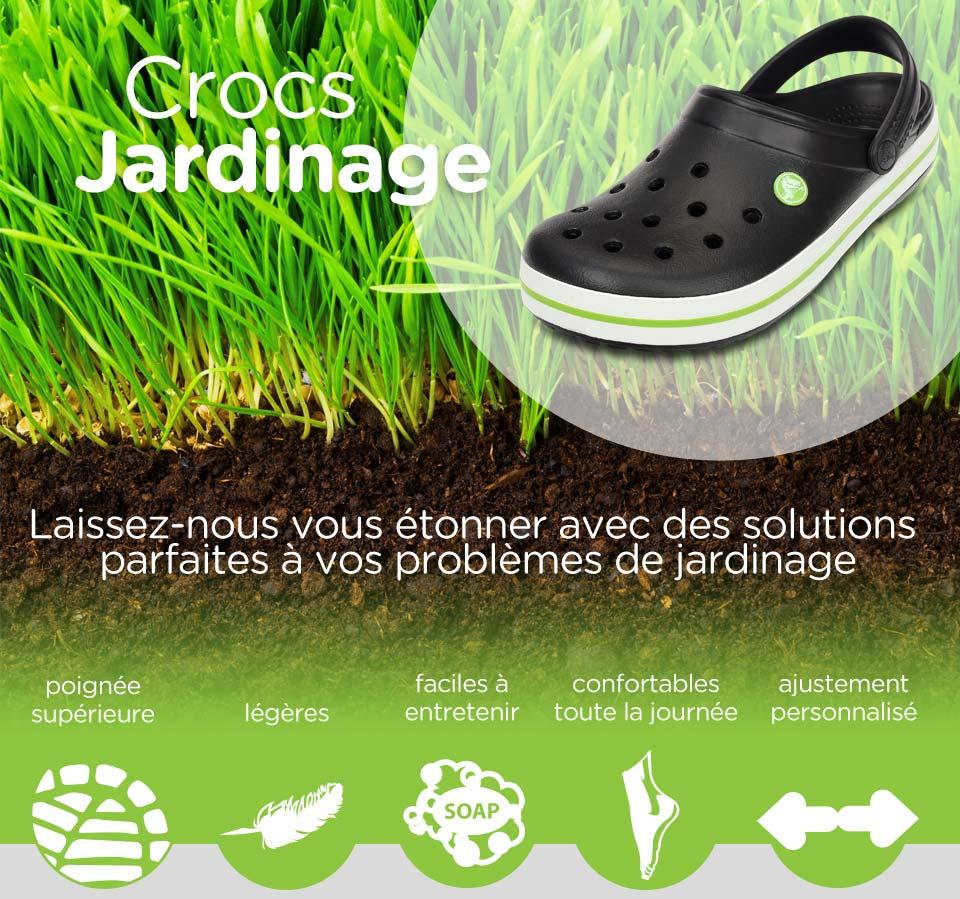 Crocs™ Chaussures De Jardinage | Sabots & Bottes De ... concernant Chaussure De Jardin