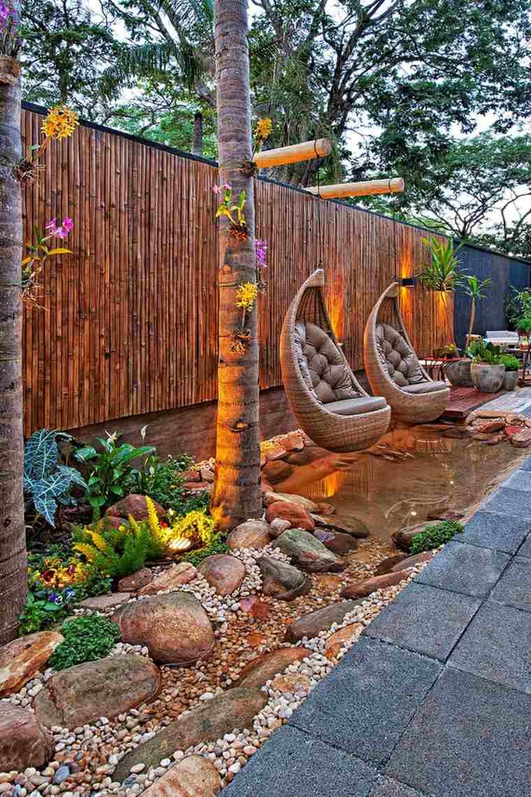 Cuisine: Amã©Nagement Jardin Crã©Atif Et Original à L'aide ... à Decoration Pour Mur Exterieur De Jardin