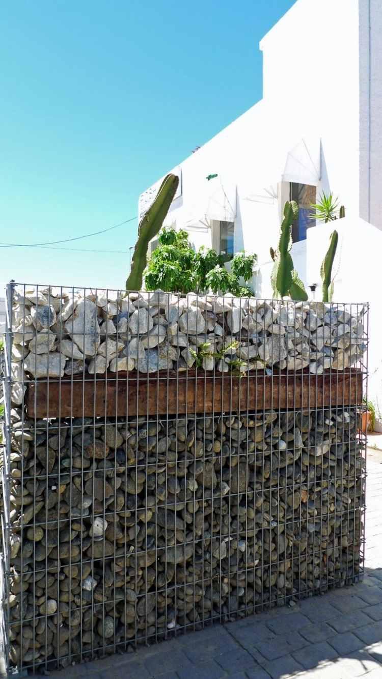 Cuisine: Amã©Nagement Jardin Crã©Atif Et Original à L'aide ... tout Gabion Deco Jardin
