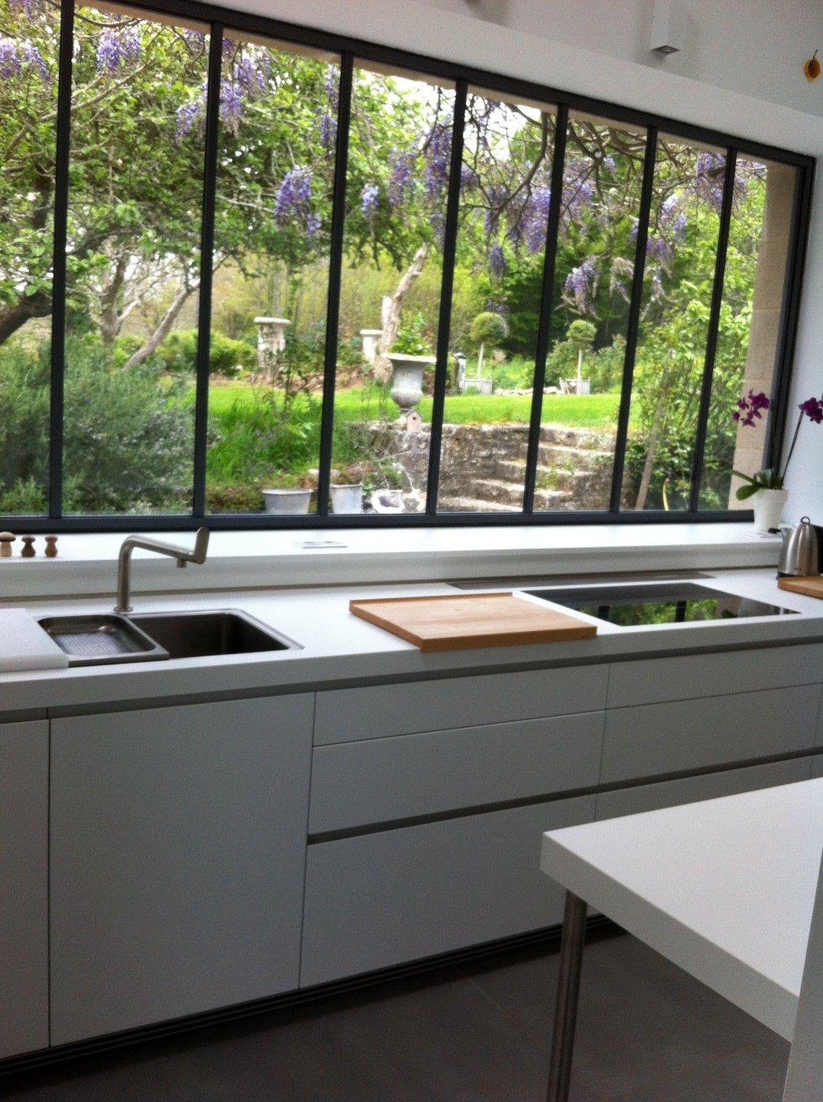 Cuisine Avec Verrière Donnant Sur Le Jardin | Maison ... destiné Verriere Jardin