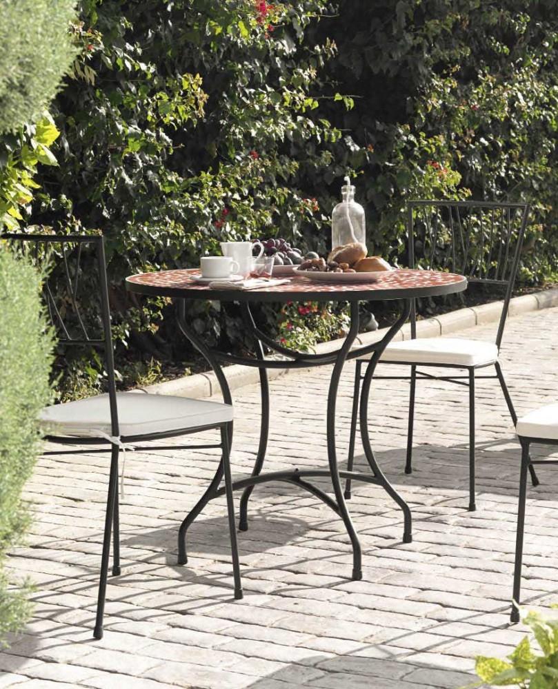 Cuisine: Chaise Fer Forgã© Jardin Terracota Chaises Fer ... avec Le Bon Coin Table De Jardin