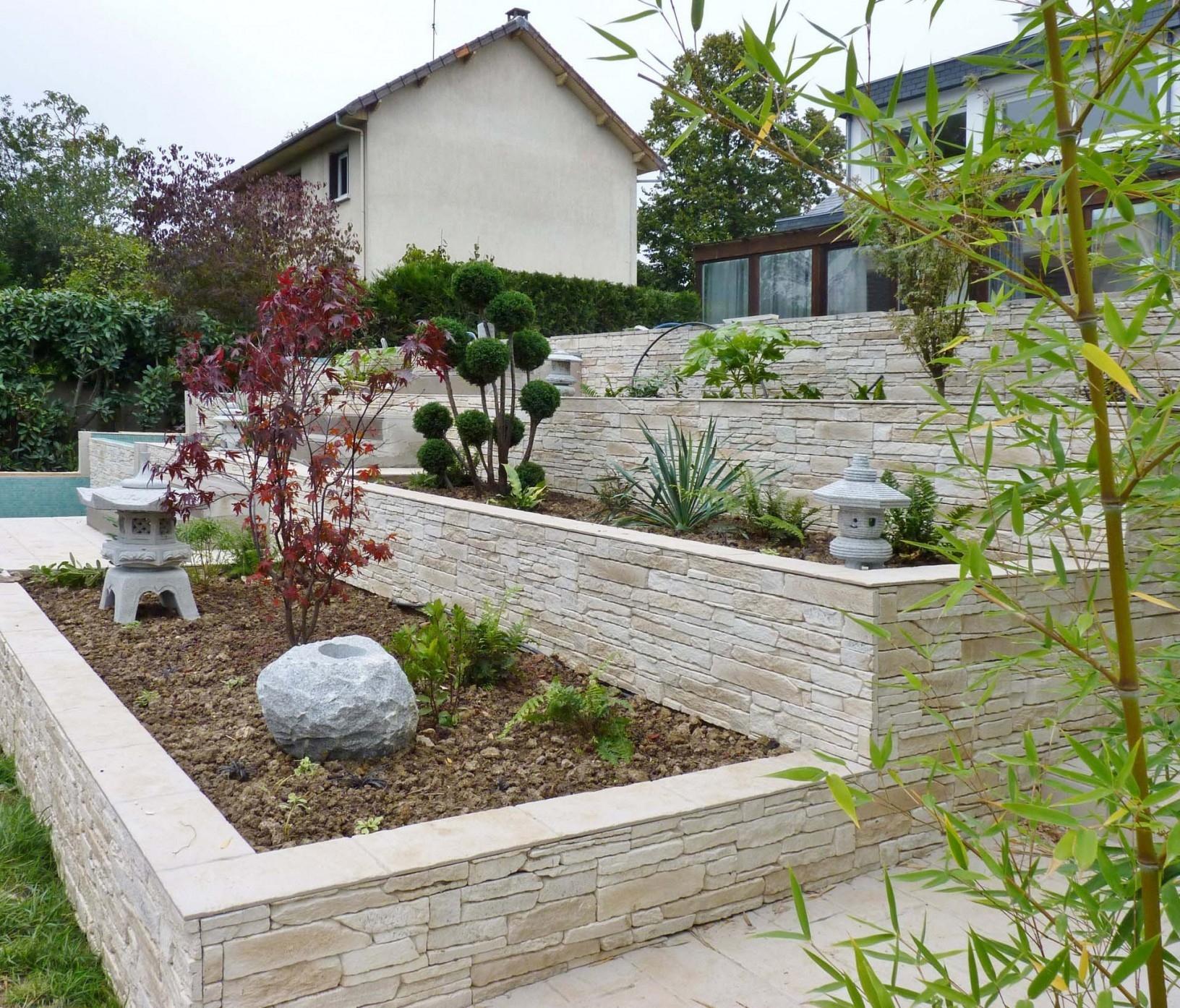 Cuisine: Grosse Pierre Decoration Jardin Decoration Jardin ... avec Cailloux Décoration Jardin