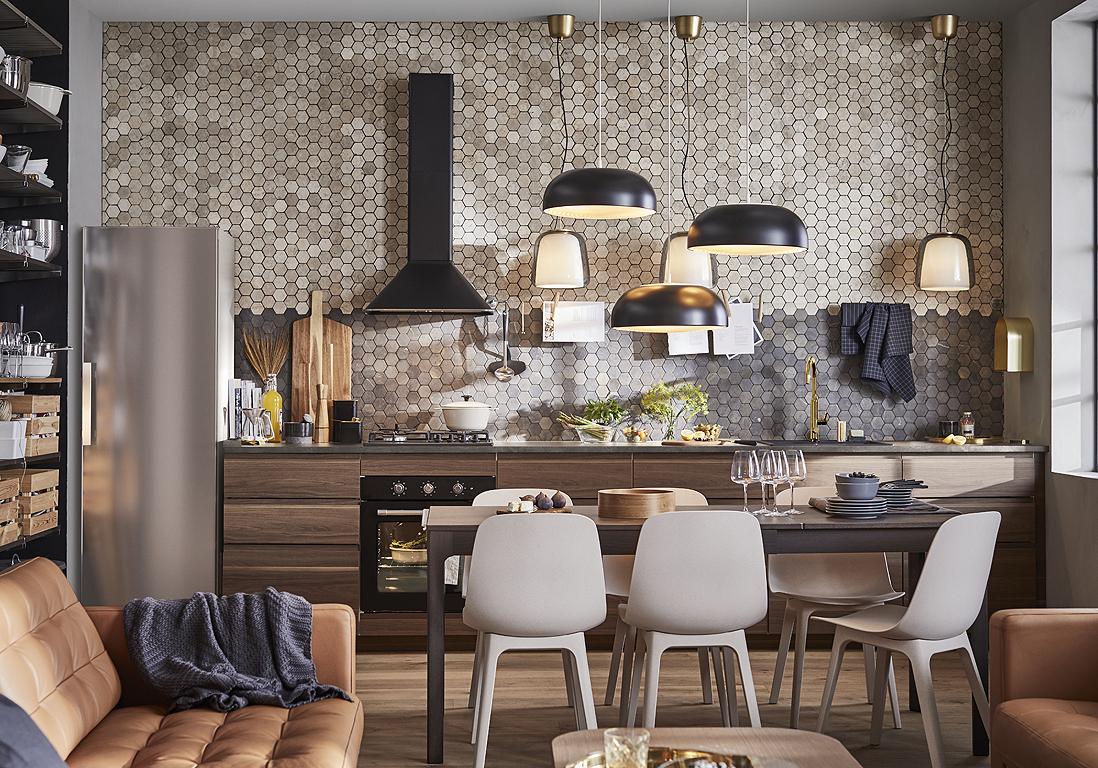 Cuisine Ikea : Les Plus Beaux Modèles Du Géant Suédois ... destiné Salon De Jardin En Fer Coloré