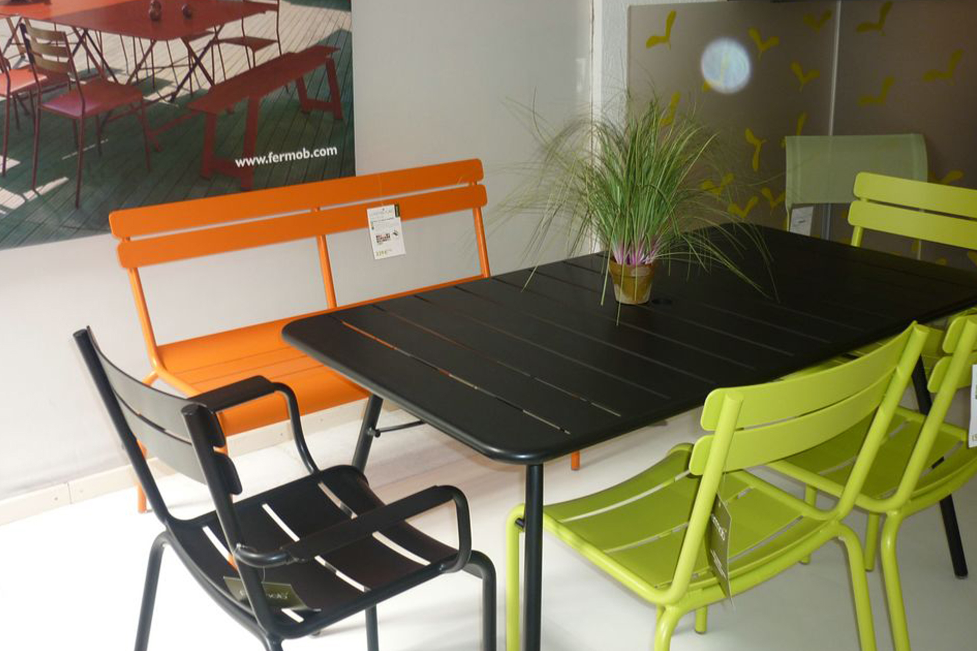 Cuisine: Nos Collections Mobilier Exterieurdcaabbcjpg ... avec Salon De Jardin Métal Coloré
