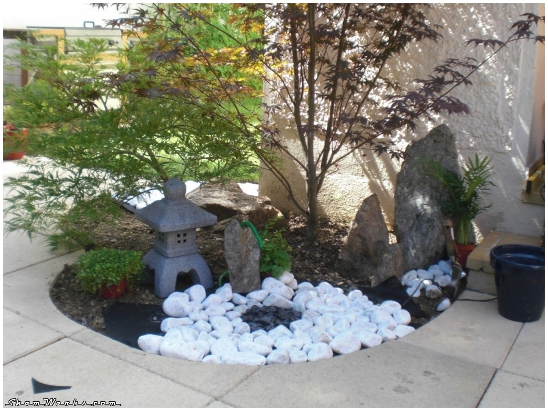 Cuisine: Oregistro = Idee Deco Jardin Noel Idã©Es De ... destiné Aménagement Entrée Jardin